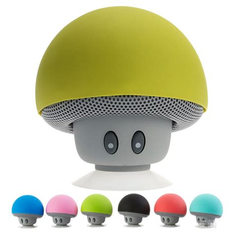 Wireless Bluetooth Mini Mushroom Speaker Cool Gadgets 101
