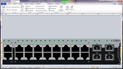 visio  network rack diagram tutorial part  modify
