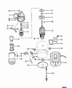 Starter Motor Assembly For Mercruiser 165 Hp  170 Hp