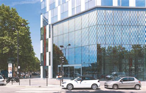 siege clarins une vitrine pour le luxe urbanews fr
