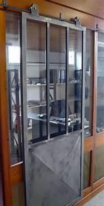 Porte En Métal : ferronnerie m tallerie serrurerie 79 deux s vres l 39 art du fer play porte style atelier ~ Teatrodelosmanantiales.com Idées de Décoration