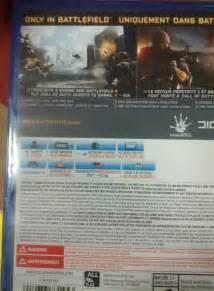 Battlefield 4 PS4 Case