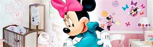 chambre bebe minnie mouse deco minnie disney baby sur With tapis chambre bébé avec livraison de fleurs 24h 24