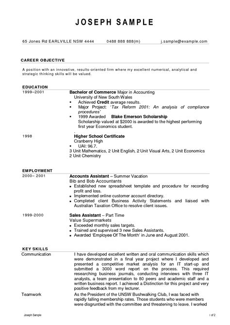 Effective Resume Formats by Effective Resume Formats Resume Template No Carb Diets