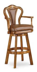 Solid Wood Swivel Bar Stools by Upholstered Kitchen Swivel Bar And Counter Stools With