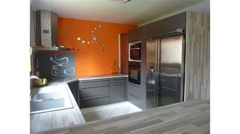 deco cuisine et grise deco cuisine orange et gris