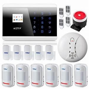 Systeme De Securité Maison : voix fran aise kit alarme maison sans fil gsm pstn fum e ~ Dailycaller-alerts.com Idées de Décoration