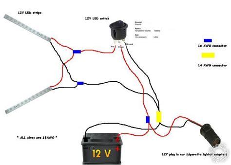Wiring Diagram Strip Lights