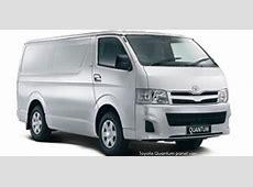 Toyota Quantum Panel Van 2018 Review Toyota SA