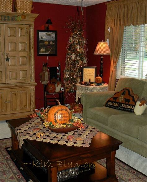 Primitive Living Room Decorating Ideas