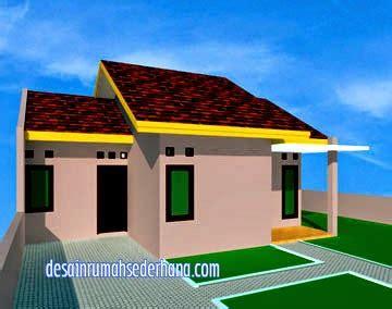 desain rumah minimalis type  luas tanah   desain