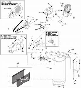 Campbell Hausfeld Vt634600 Parts Diagram For Air