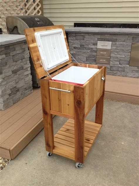build cedar ice chest plans diy   lowes indoor drying rack woodworking stand