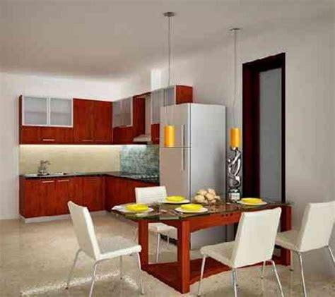 mantap inilah desain dapur  ruang makan terbuka terbaru
