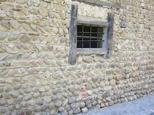 murs en galets bricobistro With mur de galet exterieur
