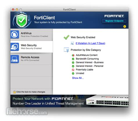 forticlient  mac    latest version