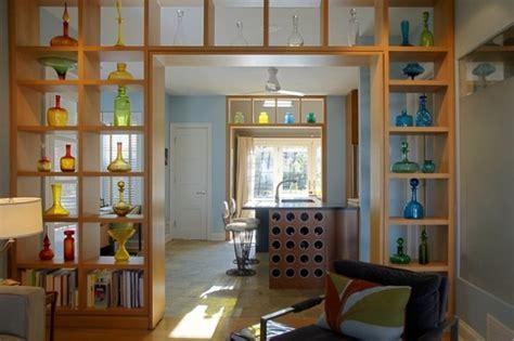 great ideas  partition  shelves