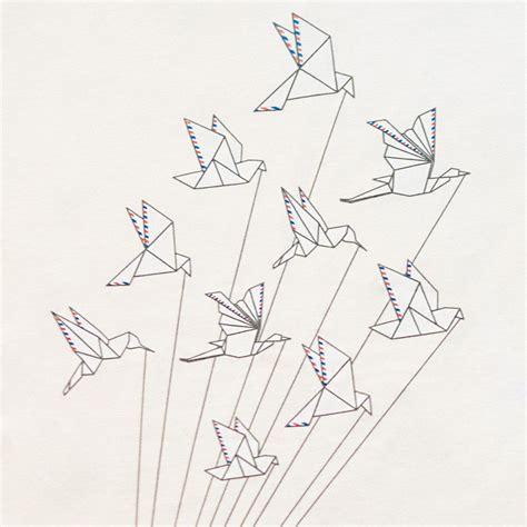 airmail origami taidetta   origami animals