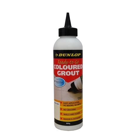 tile remover bunnings dunlop 800g ready to go coloured grout white bunnings