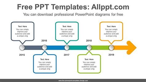 ppt timeline template in hawaii