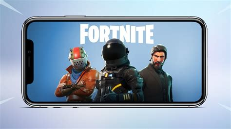 mobile reveal trailer  fortnite battle royale released