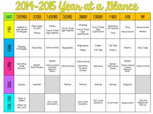 Ginger snaps a peek at my long range plans for Year at a glance template for teachers