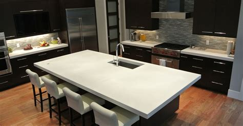 kitchen island worktop how to choose the perfect kitchen countertop diy concrete concrete and countertop
