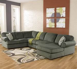 ashley signature design jessa place pewter casual With ashley furniture freestyle pewter sectional sofa