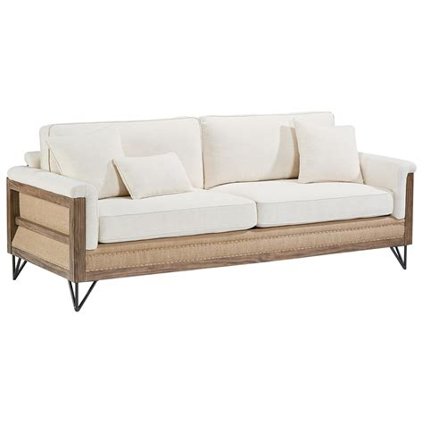 joanna gaines sectional sofas paradigm sofa with exposed wood frame by magnolia home by