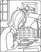 Reading Coloring Pages Education Kb Wpclipart 1100 Pdf Formats sketch template