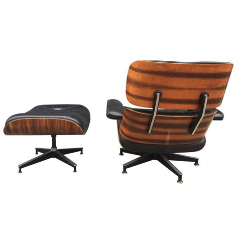 eames lounge chair for herman miller in high contrast