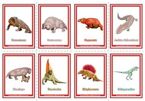 dinosaur flashcards aussie childcare network