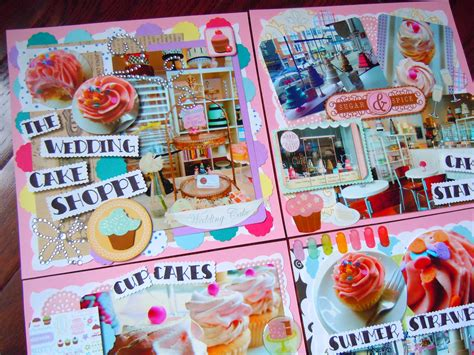 scrapbooking cuisine scrapbook layouts ate by ate