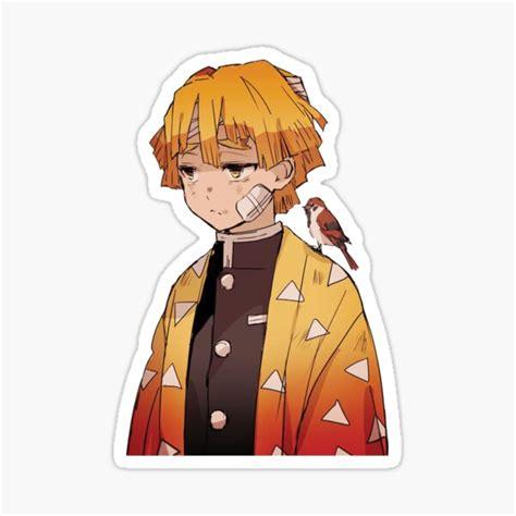 zenitsu stickers redbubble