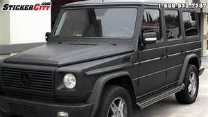 Matte Black Mercedes G Wagon By Stickercity Com