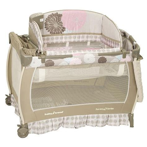 baby trend crib pack n play baby trend deluxe nursery center