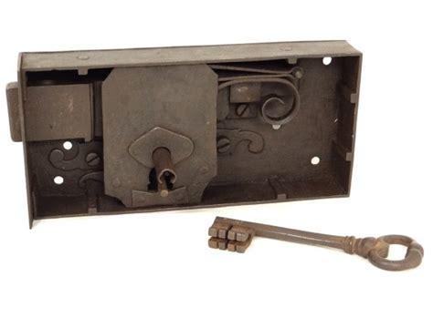 great castle key lock key wrought iron lock  diamond