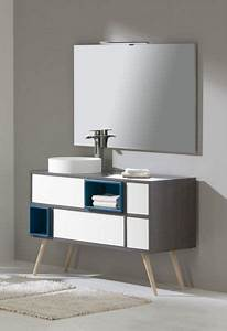 meubles lave mains robinetteries meuble sdb meuble de With salle de bain design avec meuble vasque lave main