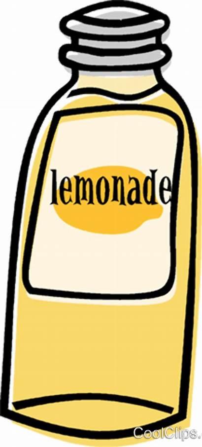 Clipart Limonade Lemonade Bottle Flasche Clip Vektor