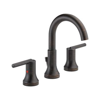 Delta Faucet Greensburg Indiana by Delta 3559 Rbmpu Dst Trinsic 8 Quot Widespread 2 Handle High