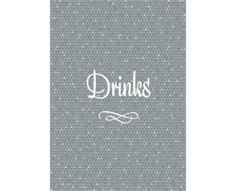 elegante restaurant menuekarte getraenkekarte