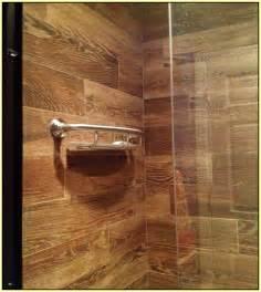 Wood Look Ceramic Tile Shower