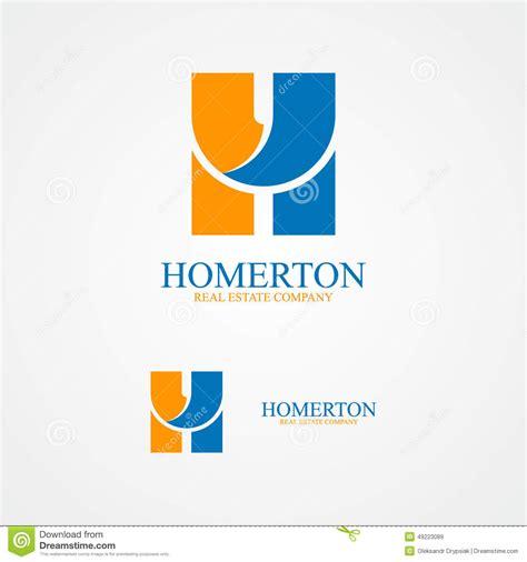 set  letter  logo  design template elements stock