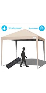 amazoncom quictent upgraded ez pop  canopy  netting screen house tent mesh side wall