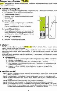 Climax Technology Co Ts9 Temperature Sensor User Manual Ts