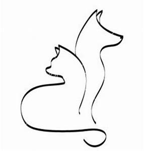 German shepherd pattern. Use the printable outline for ...