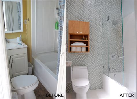Small Bathroom Remodels Before And After by Before After Tiny San Francisco Bathroom Remodel