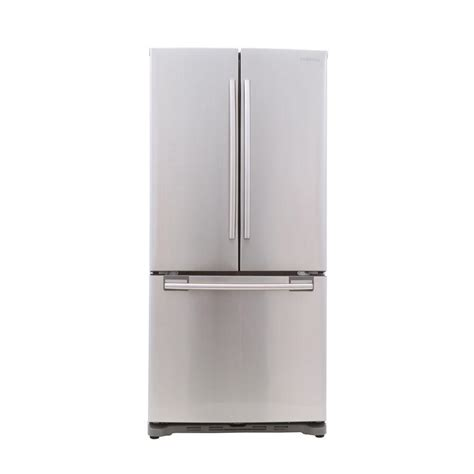 cabinet depth refrigerator review rf18hfenbsr french door refrigerator