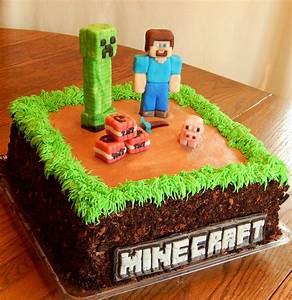 Minecraft Cake! - CakeCentral com