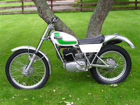 trial bike motorrad ossa
